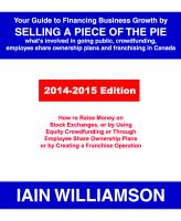 Your Guide to Financing Business Growth by Selling A Piece of the Pie
