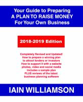 Your Guide to Preparing A Plan to Raise Money for your Own Business