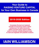 Your Guide to Raising Venture Capital for Your Own Business in Canada