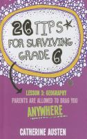 Image: 26 Tips for Surviving Grade 6