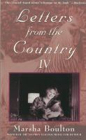 Letters From the Country