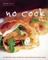 No Cook Cookbook