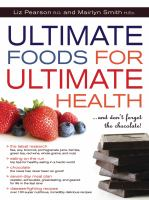 Ultimate Foods for Ultimate Health-- and Don't Forget the Chocolate!