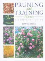 Pruning and Training Plants