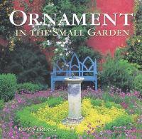 Ornament In The Small Garden