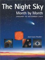 The Night Sky Month-by-month