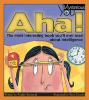 Aha! :the Most Interesting Book You'll Ever Read About Intelligence