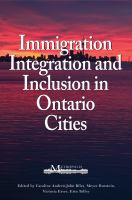 Immigration, Integration, and Inclusion in Ontario Cities