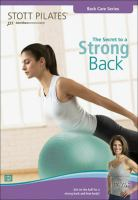 The Secret to A Strong Back