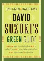 David Suzuki's Green Guide