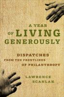 A Year of Living Generously