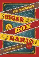 Cigar Box Banjo