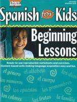 Spanish for kids beginning lessons