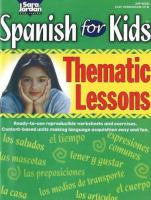 Spanish for kids thematic lessons