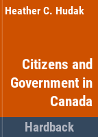 Citizens and Government in Canada