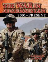 The War in Afghanistan, 2001-present