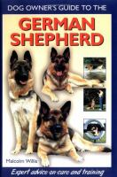 Dog Owner's Guide to the German Shepherd
