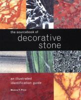 The Sourcebook of Decorative Stone