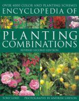 Encyclopedia of Planting Combinations