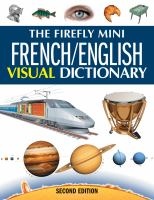 The Firefly Mini French/English Visual Dictionary