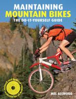 Maintaining Mountain Bikes