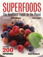 Superfoods, the Healthiest Foods on the Planet