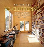 200 Tips for De-cluttering