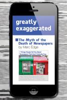 Greatly Exaggerated