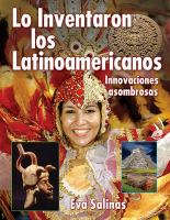 Lo inventaron los latinoamericanos