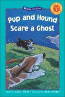 Pup And Hound Scare A Ghost