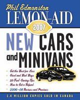Lemon-aid New Cars And Minivans, 2007