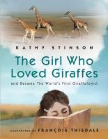 The girl who loved giraffes and became the world's first giraffologist