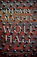 Cover of Wolf Hall