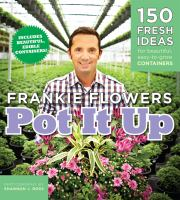 Book cover of Pot it Up by Frankie Flowers.