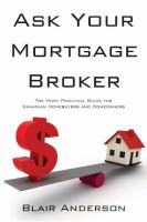 Ask your Mortgage Broker