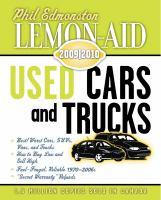 Lemon-aid Used Cars and Trucks 2009/10