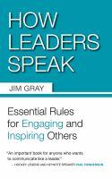 How Leaders Speak