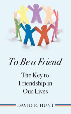 Cover image for To Be A Friend