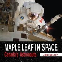 Maple Leaf in Space