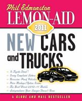 Lemon-aid 2011 New Cars and Trucks