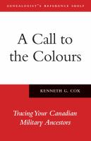 A Call to the Colours