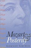 Mozart and Posterity