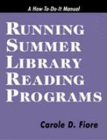 Running Summer Library Reading Programs