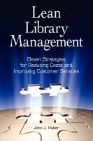 Lean Library Management