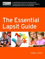 The Essential Lapsit Guide