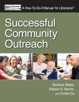 Successful Community Outreach