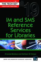 IM and SMS Reference Services for Libraries