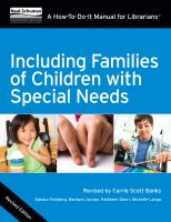 Including Families of Children With Special Needs