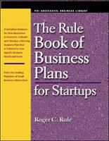 The Rule Book Of Business Plans For Startups