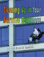 Cleaning Up In Your Service Business